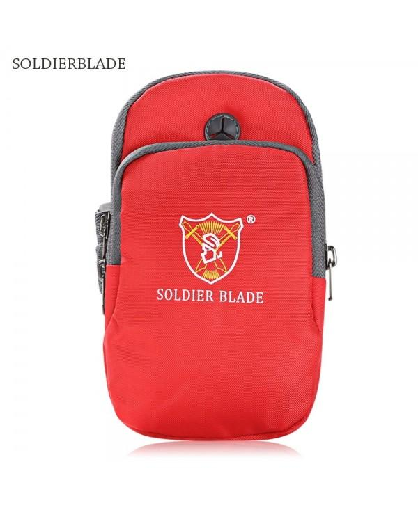 SOLDIERBLADE Sport Fitness Running Arm Band Bag Pouch