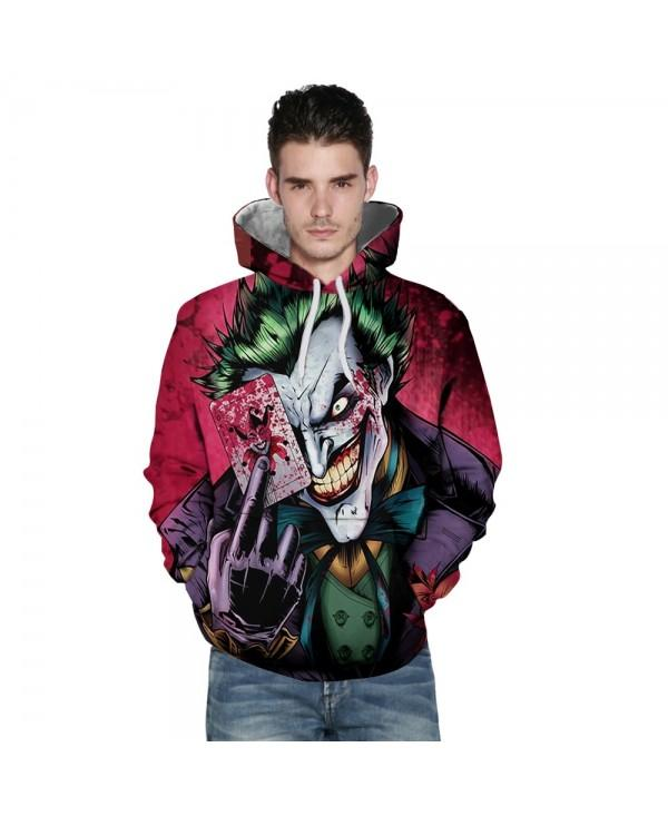 New Fashion Ace 3D Printing Men's Hoodie