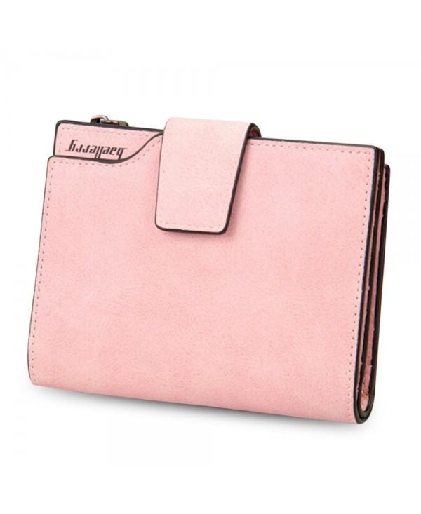 Baellerry Stylish Card Holder Short Clutch Wallet for Women