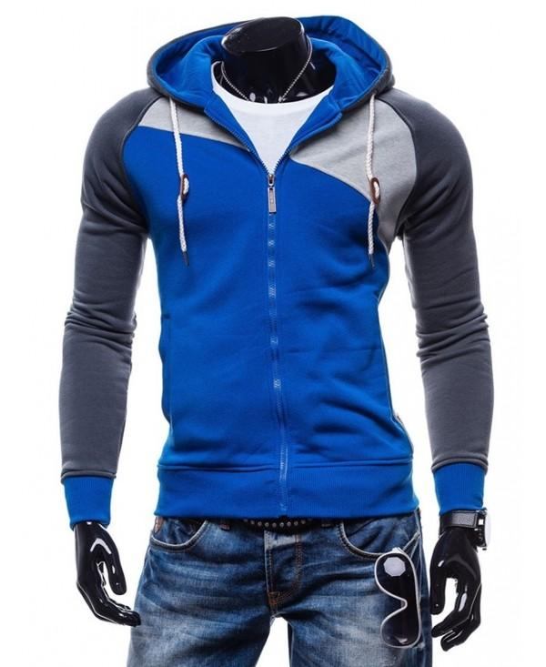 Fashion Comfortable Slim Leisure Zipper Hoodie for Men