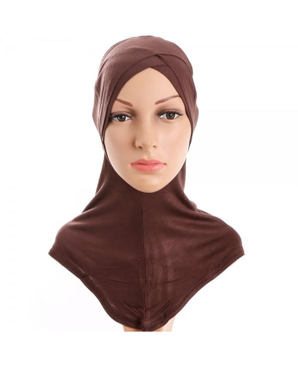 Four Layer Folding Headscarf Wrap