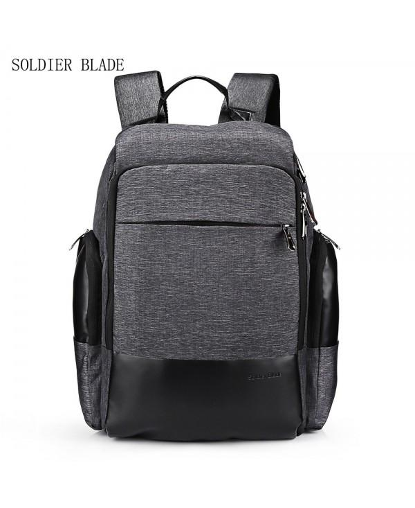 SOLDIERBLADE Large Capacity USB Charger Port Men Backpack for Travel