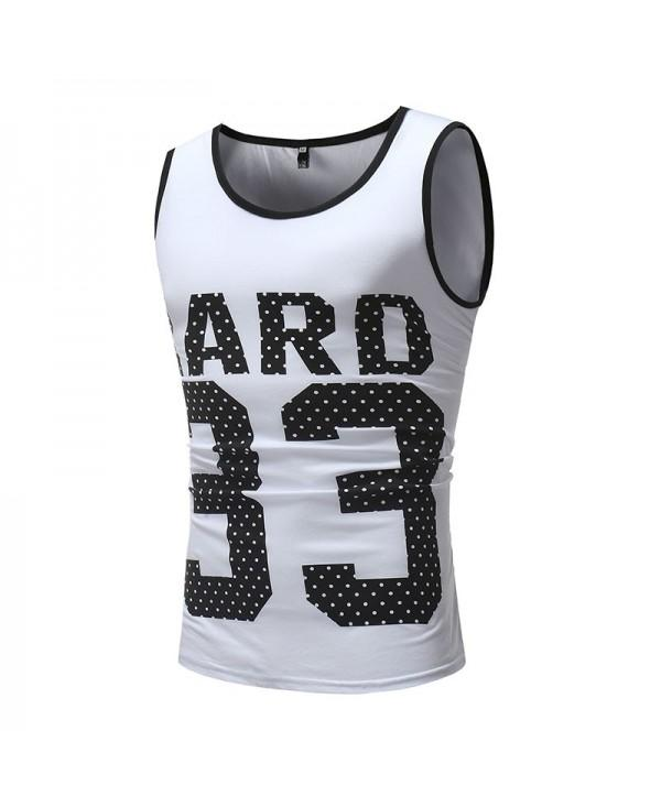 Men's Fashion Digital 33 Print Casual Vest