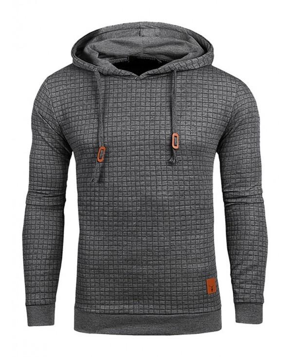 Trendy Breathable Solid Color Sports Sweatshirt for Men