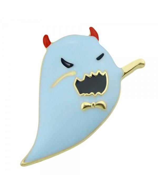 Cute Halloween Devil Ghost Brooch