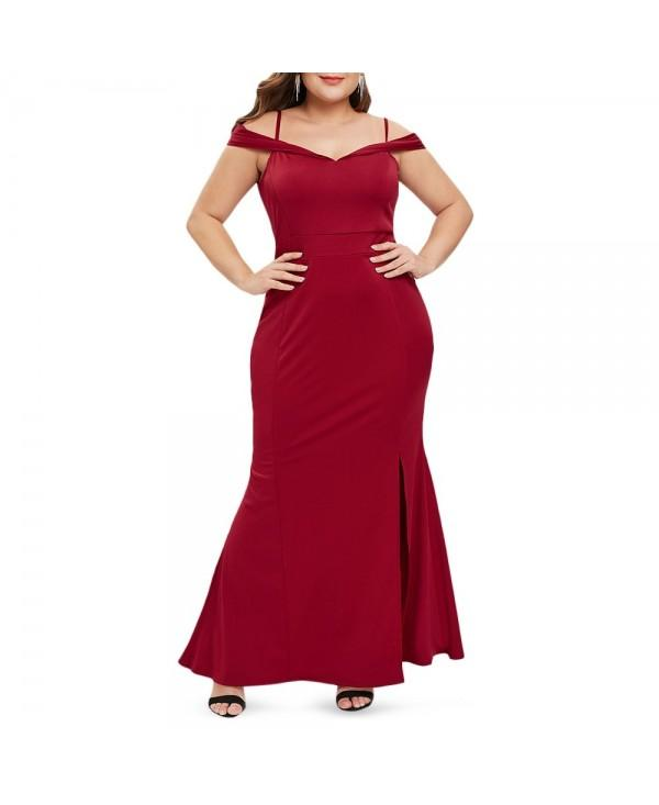 Plus Size Mermaid Dress