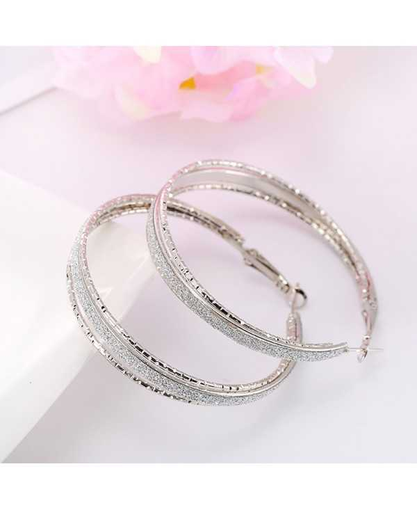 Trendy Hoop Earrings Outlet Online