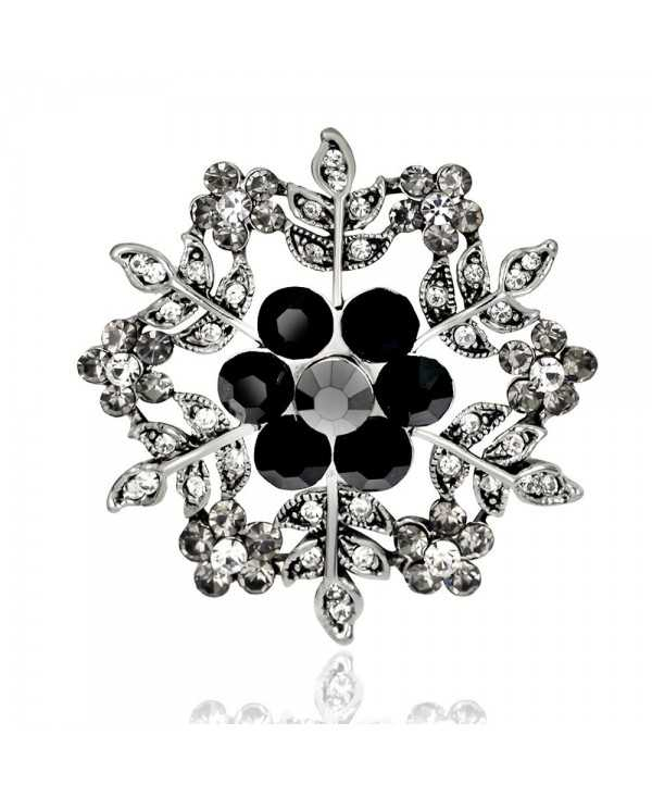 Creative New Alloy Hollow Snow Vintage Brooch