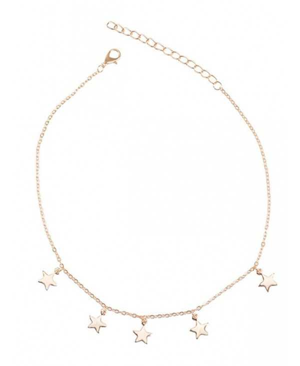 Star Charm Collarbone Chain Necklace