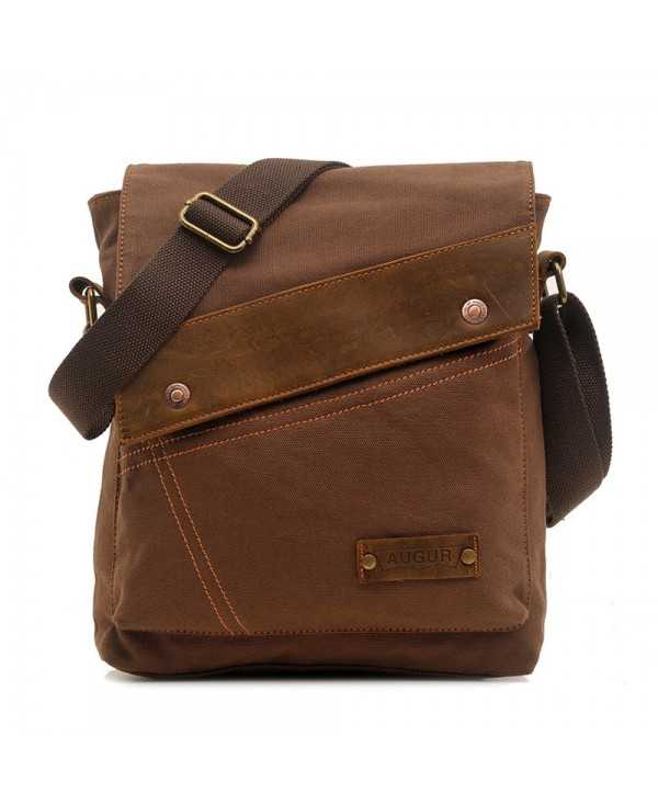 Canvas Crossbody Men Vintage Messenger Large Shoulder Casual Travel Bags
