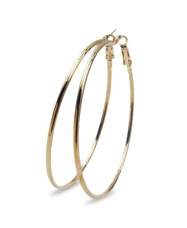 Exaggerate Big Hoop Earrings