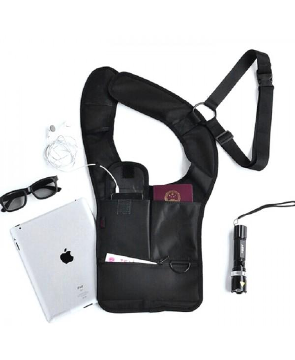 Security Anti-theft Hidden Armpit Shoulder Bag Mobile Phone Key Pack