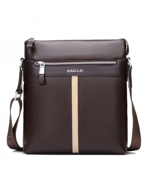 High Quality Men'S Messenger Bags Genuine Leather Man Crossbody Shoulder Bag
