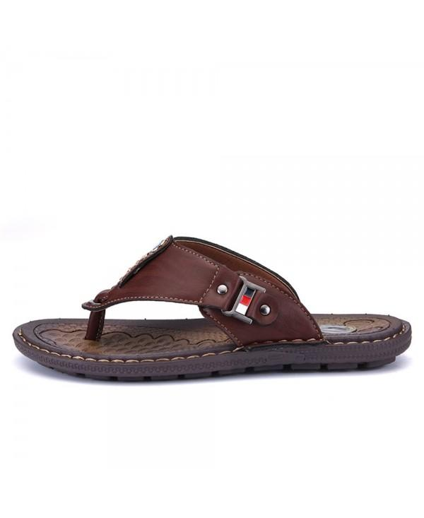 New Arrival Summer Men Flip Flops High Quality Beach Sandals Non-Slide Male