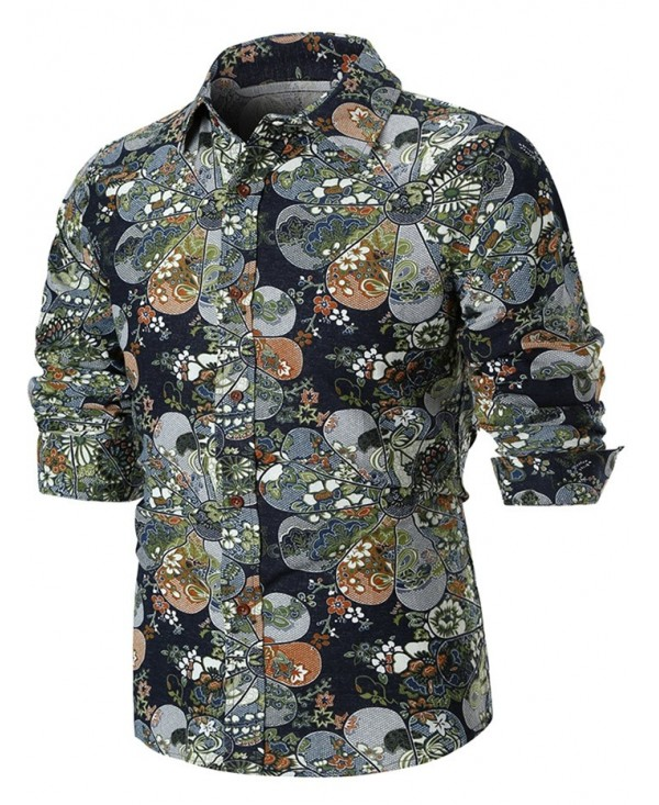 Tiny Floral Button Up Shirt