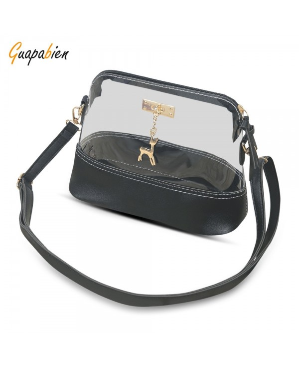 Guapabien Transparent Single Shoulder Crossbody Women Bag