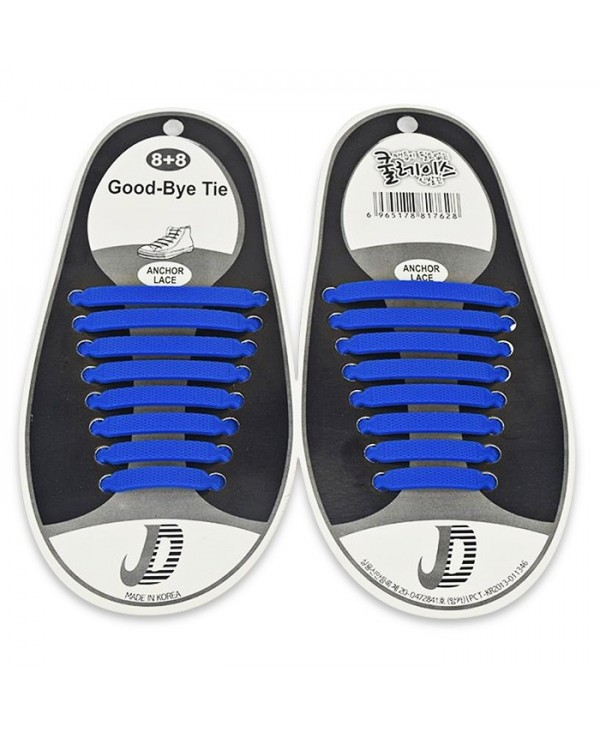 Outdoor Fashion Silicone Shoelaces