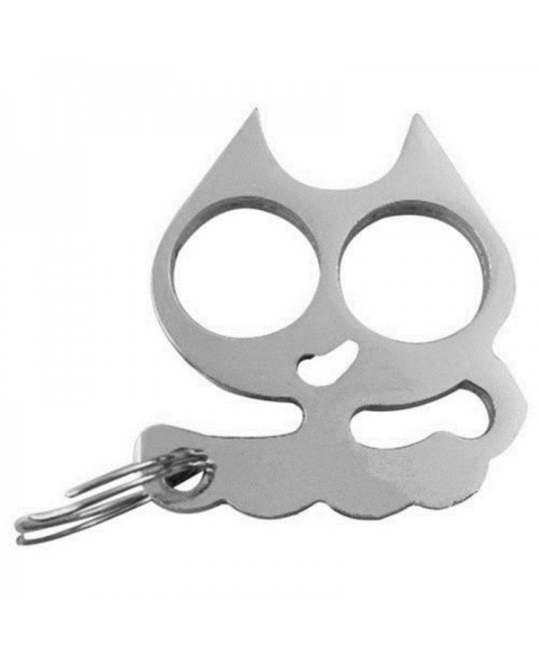 Self-Defense Cat Key Ring Emergency Metal Tool Gift