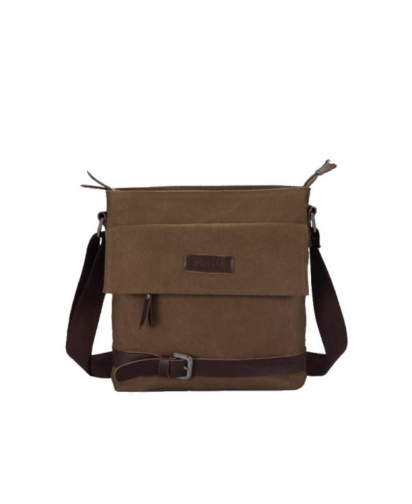 Canvas Single Shoulder Slanted Man Bag
