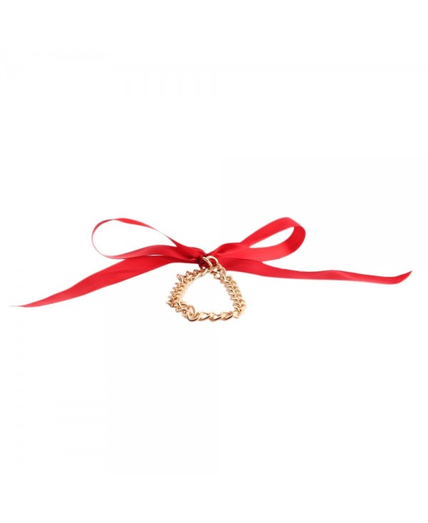 Fashion Beach Ribbon Chain Anklet for Lady