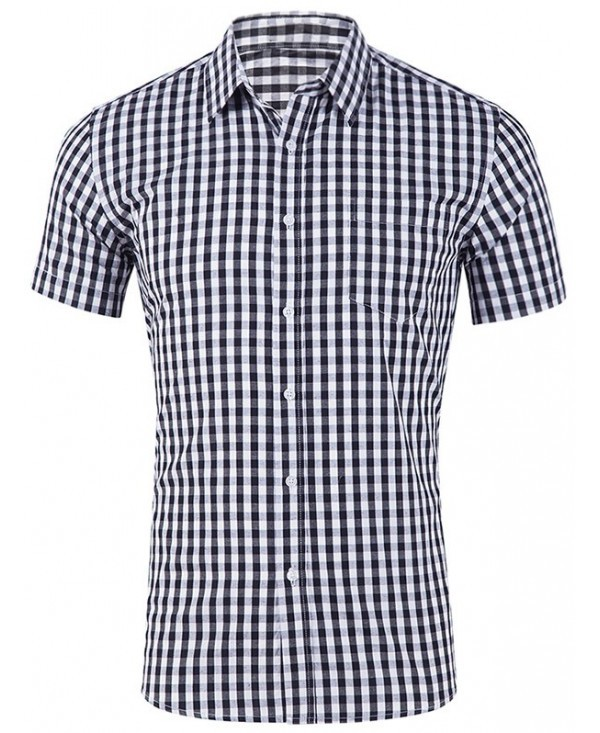 Tartan Design Single Pocket Shirt