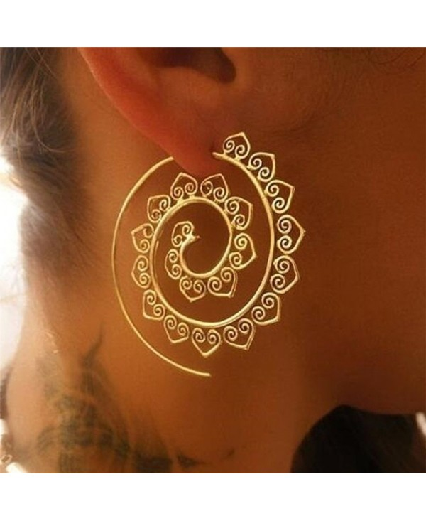 Women's Bohemia's Round Earrings