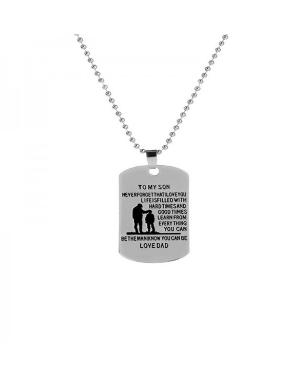 Creative Men's Necklace of Father and Son