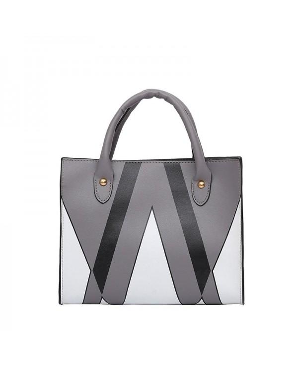 The Triangle Print Killer Woman Hits The Female Bag