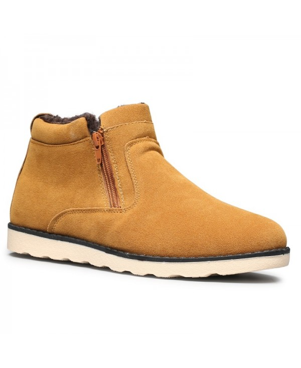 Fashion Anti-slip Warm Ankle Boots for Men