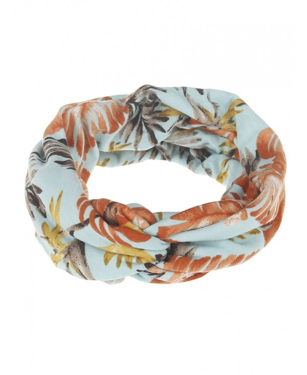 Leaf Printed Multiuse Elastic Hair Band