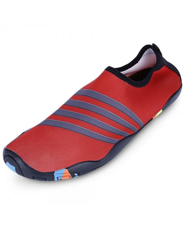 Round Toe Quick-dry Non-slip Breathable Men Water Shoes