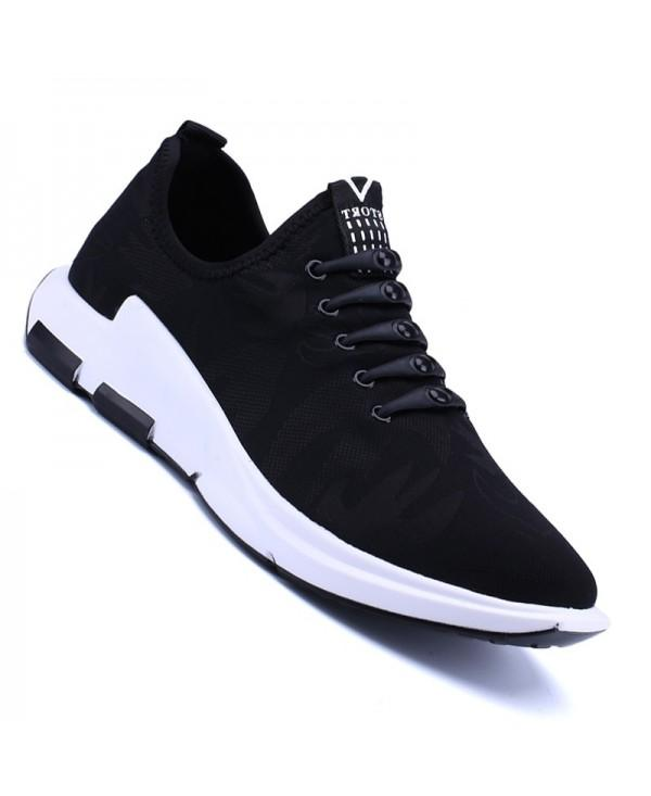 Men Casual New Trend for Fashion Outdoor Slip on Mesh Rubber Flat Shoes