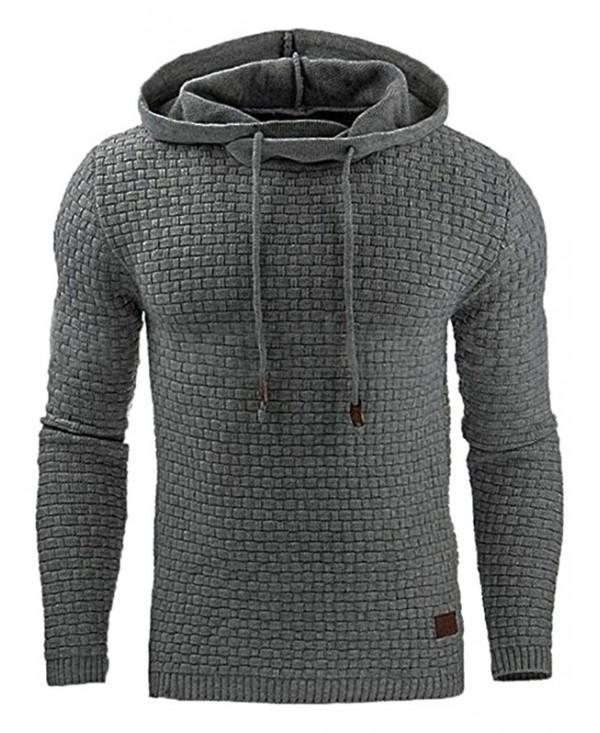 Leisure Hoodie Long Sleeve Fleece for Men