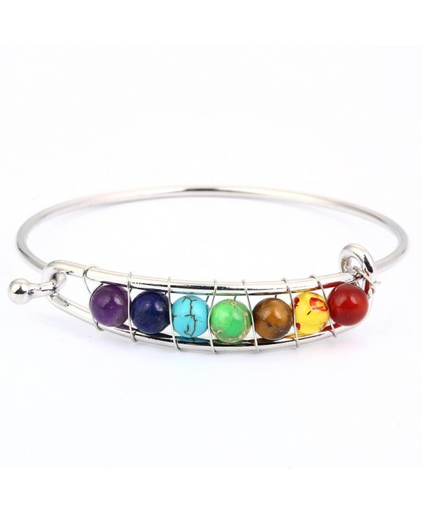 Colorful Yoga Positive Energy Natural Stone Bracelet