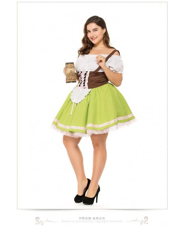Orgshine German Oktoberfest Maid Costume Oktoberfest Cosplay Party Performance Costume Game Uniform