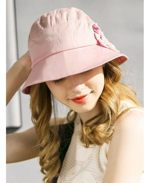 Stylish Floral Wide Brim Foldable Sunscreen Hat