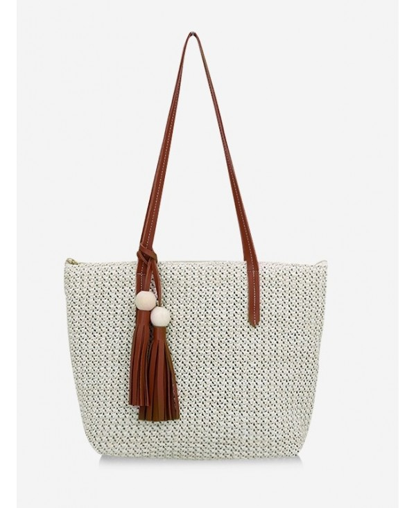 Straw Braided Large Capacity Shoulder Bag