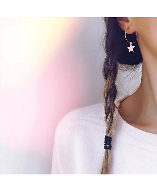 1 Pair of Earrings Women'S Fashion Earrings Personality Simple Star Earrings