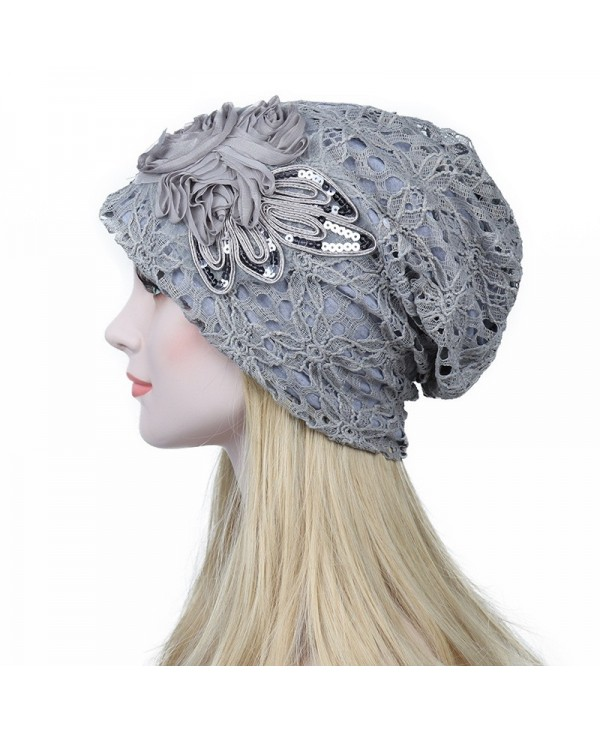 New Woman Fashion Breathable Floral Lace Hat