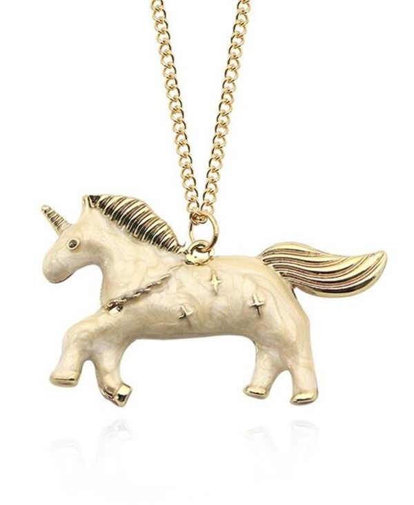 Unicorn Star Collarbone Necklace