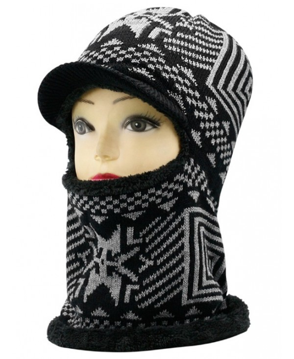 Outdoor Knitted Thicken Ski Warm Hat