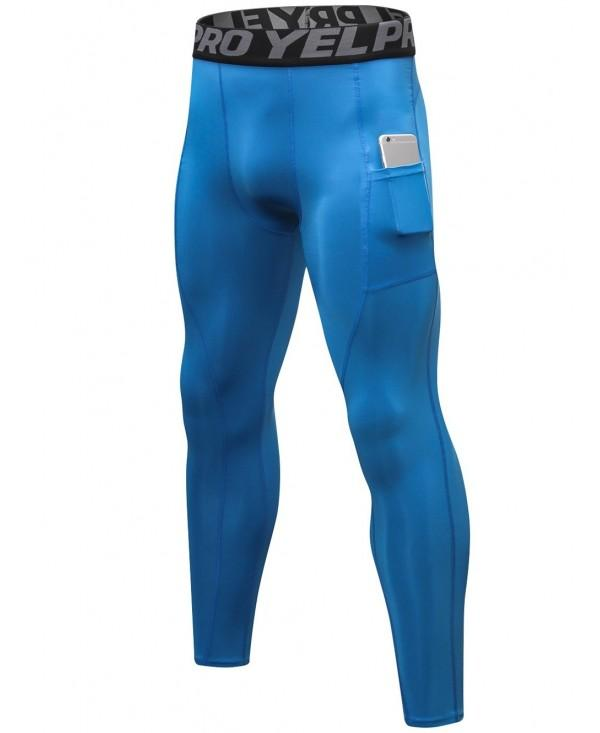 Pocket Quick-dry Tight-fitting Sport Pants