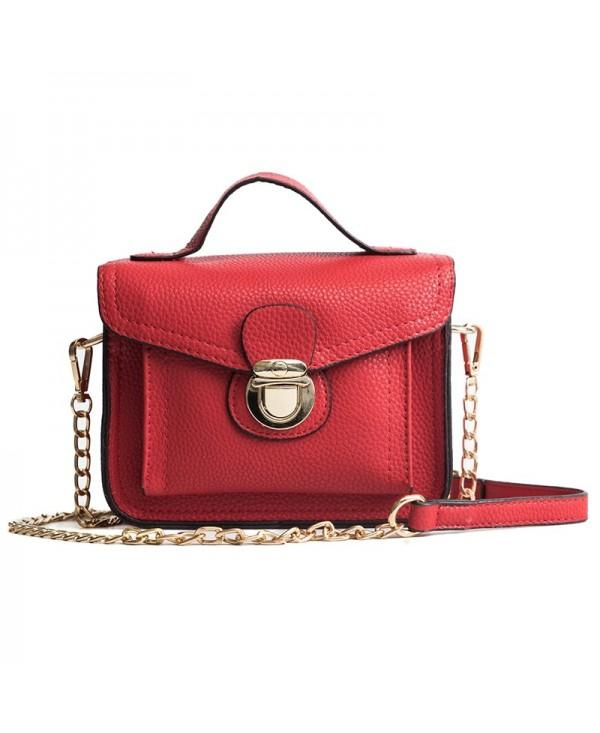 DA01354 Women'S PU Single Shoulder Handbag