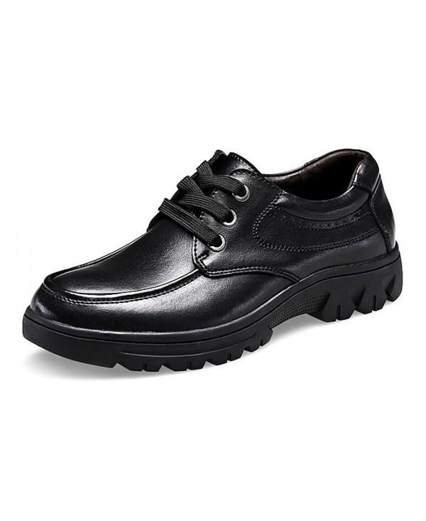 Business Breathable Soft Wearable Casual Leather Dress Shoes for Men