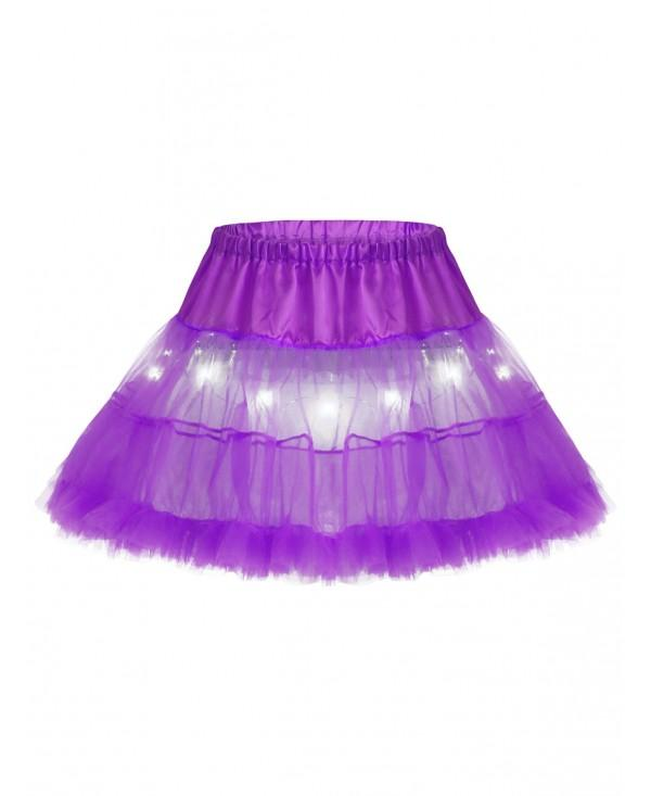 Ruffles Light Up Tutu Voile Cosplay Skirt