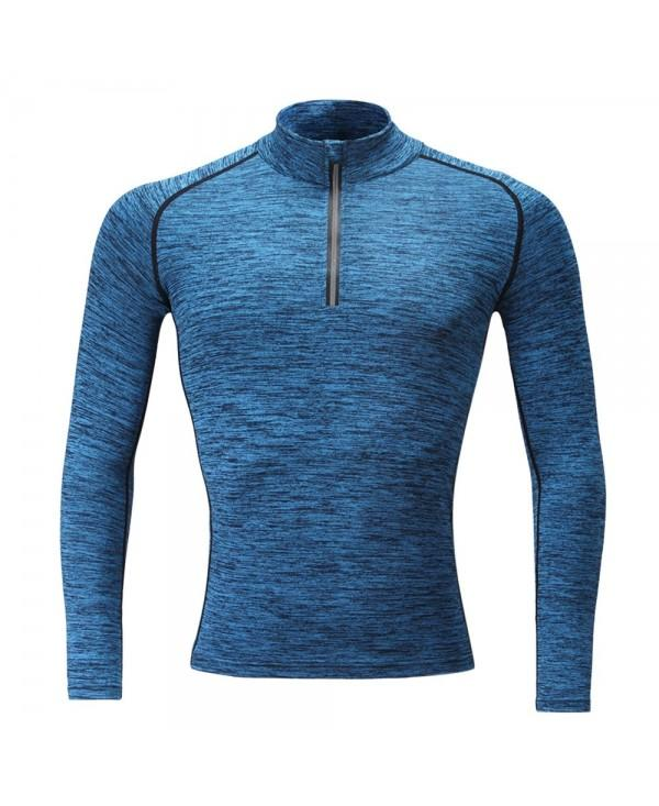 SB902 Male Quick Dry Long Sleeve Tight-fitting Sports Shirt