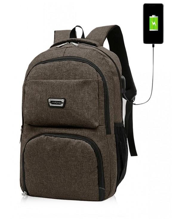 USB Charging Port School Backpack
