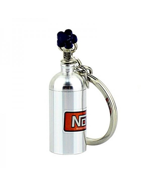 Mini Nitrous Oxide Bottle Turbo Keychain