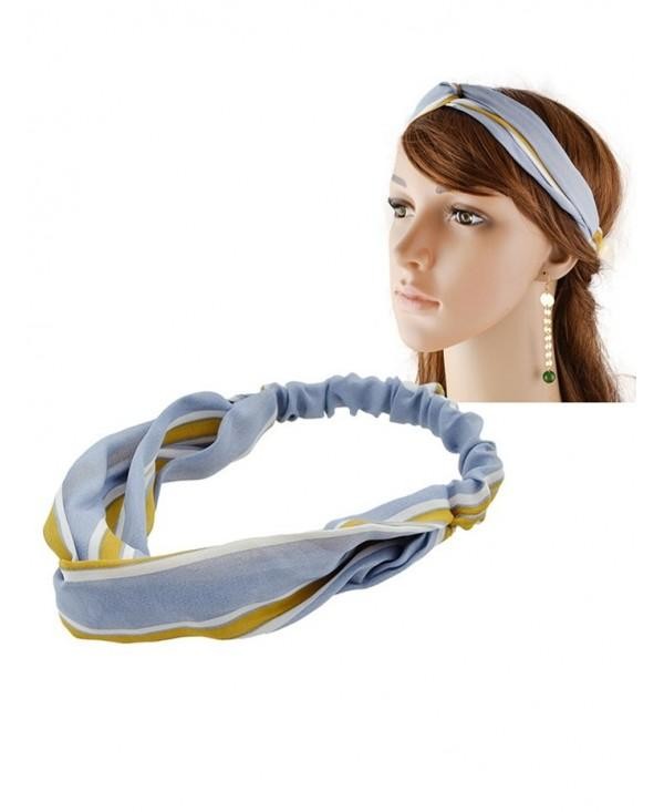 Multiuse Striped Elastic Hair Band