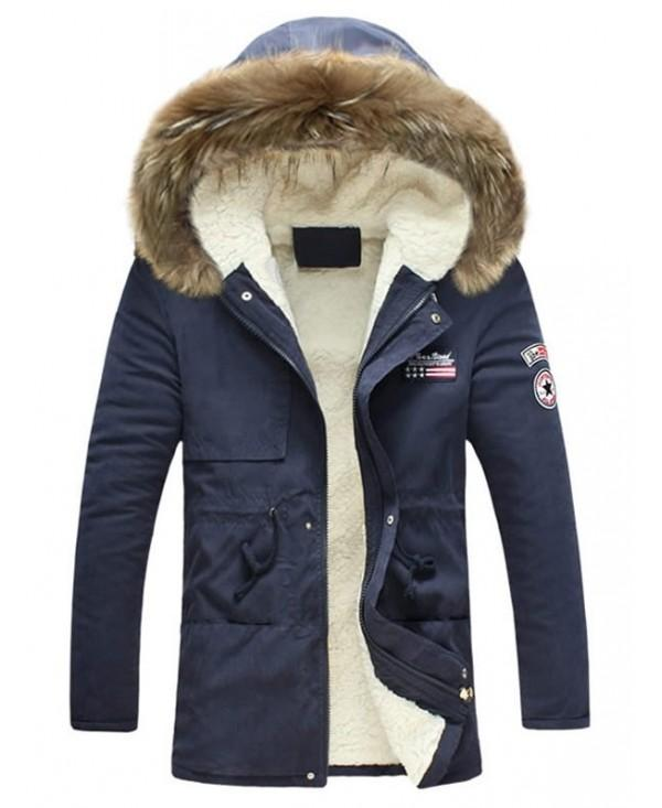 Winter Fluffy Lined Warm Hooded Jacket